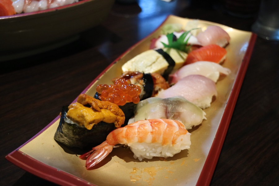 Deluxe Assorted Sushi