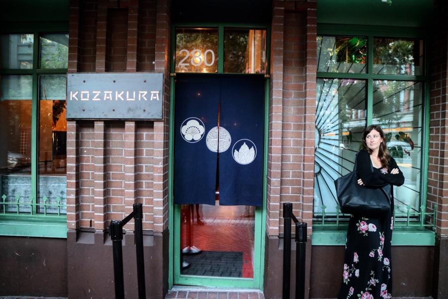 Kozakura, Gastown... Model: Food Wench