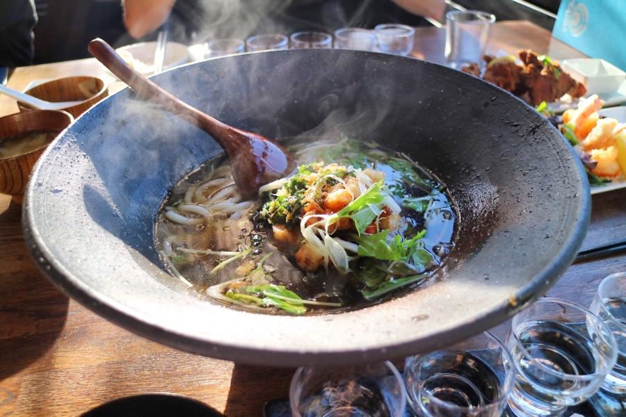 Jumbo Seafood Kaki-Age Udon