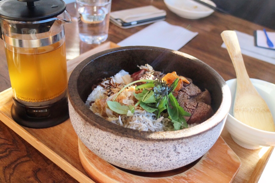 Sizzling Stone Beef Steak Hitsumabushi
