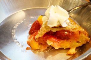 Peach Strawberry Ginger Pie @ Gabi & Jules