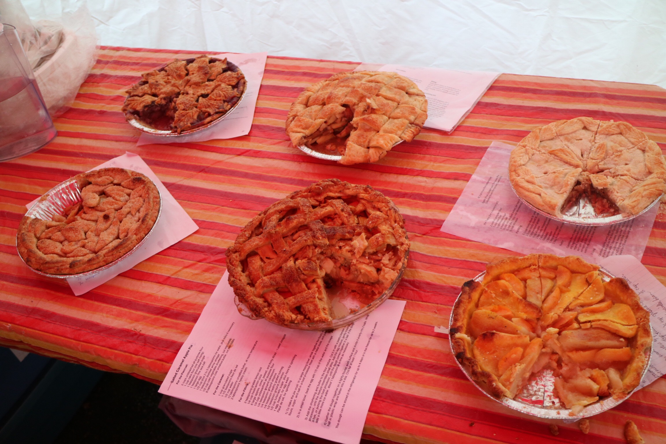 BC Fruit Pie Competition @ the Harvest Festival