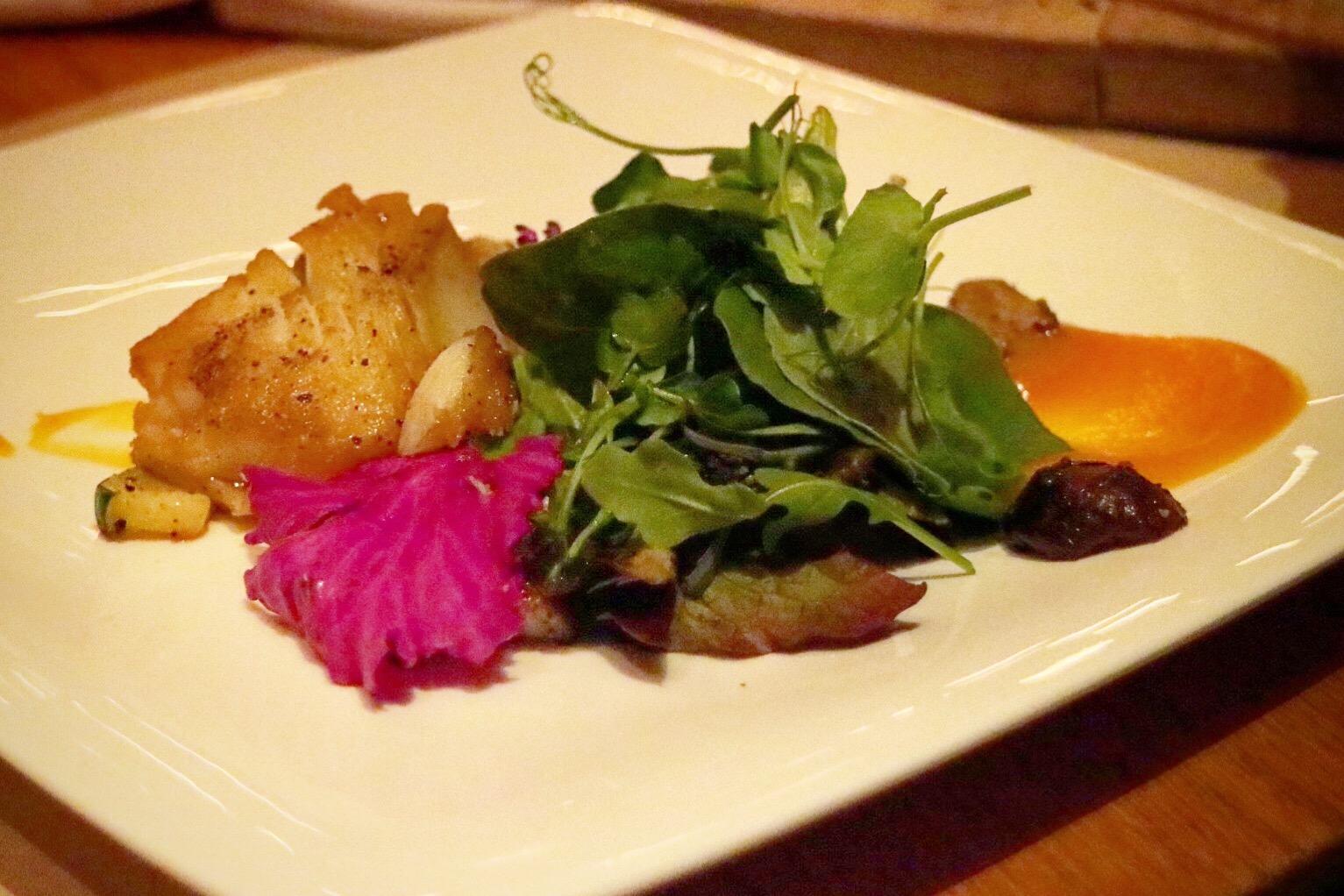 """""""sable fish salad"""""""
