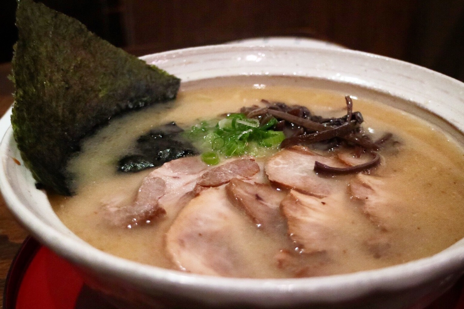 shio ramen with extra bbq pork