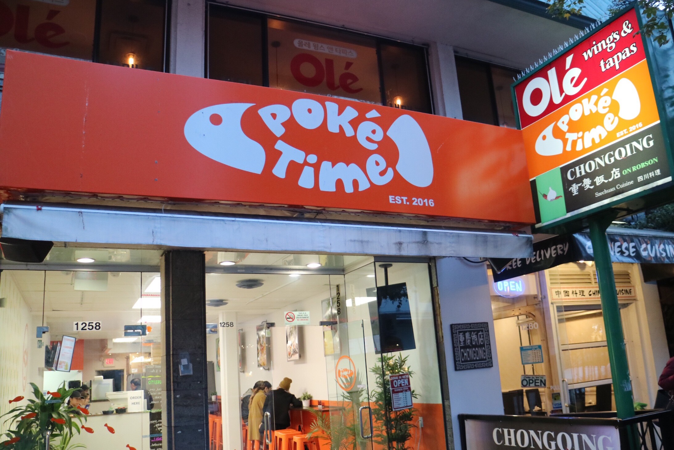 Poké Time on Robson