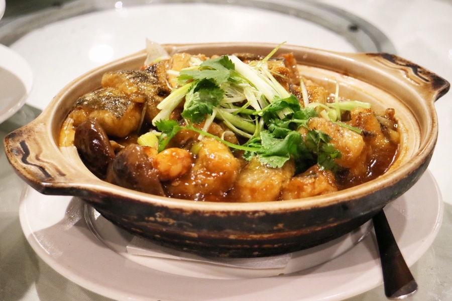 Black Cod Hot Pot