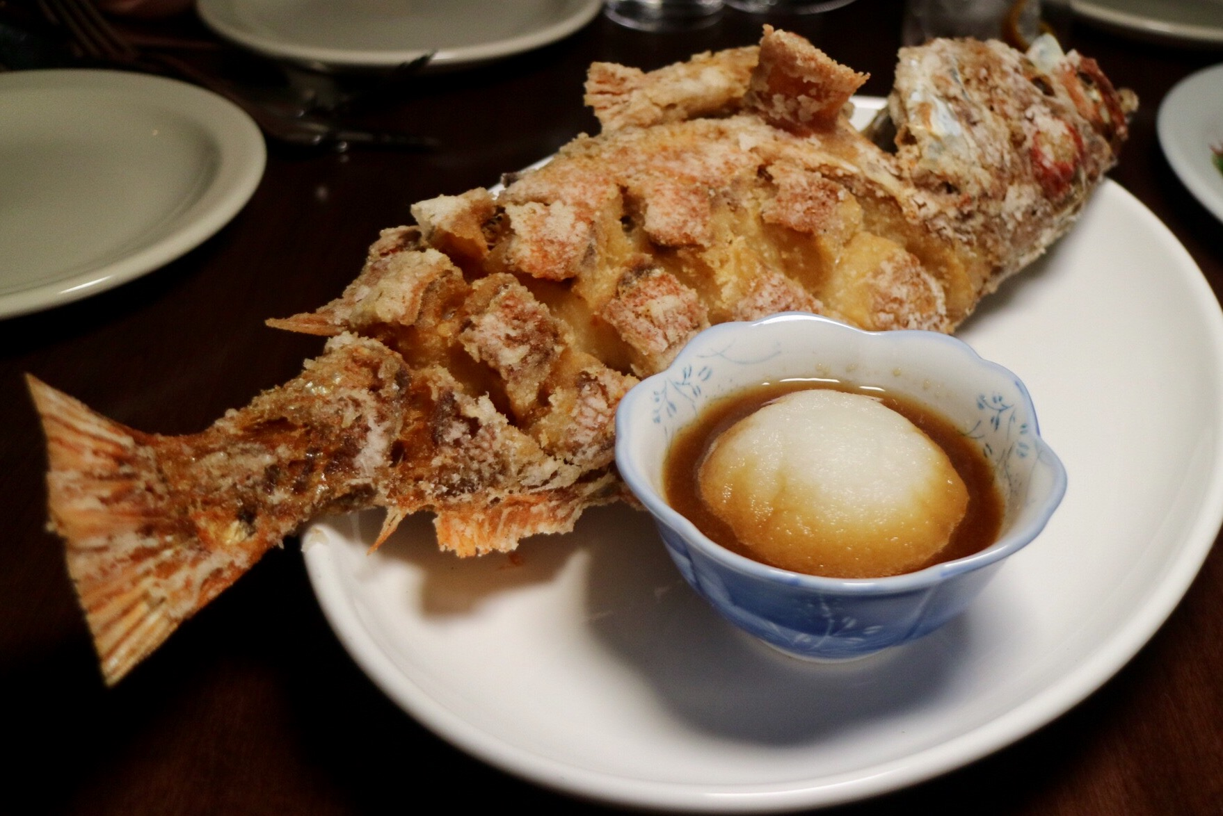 Fried Ocean Perch