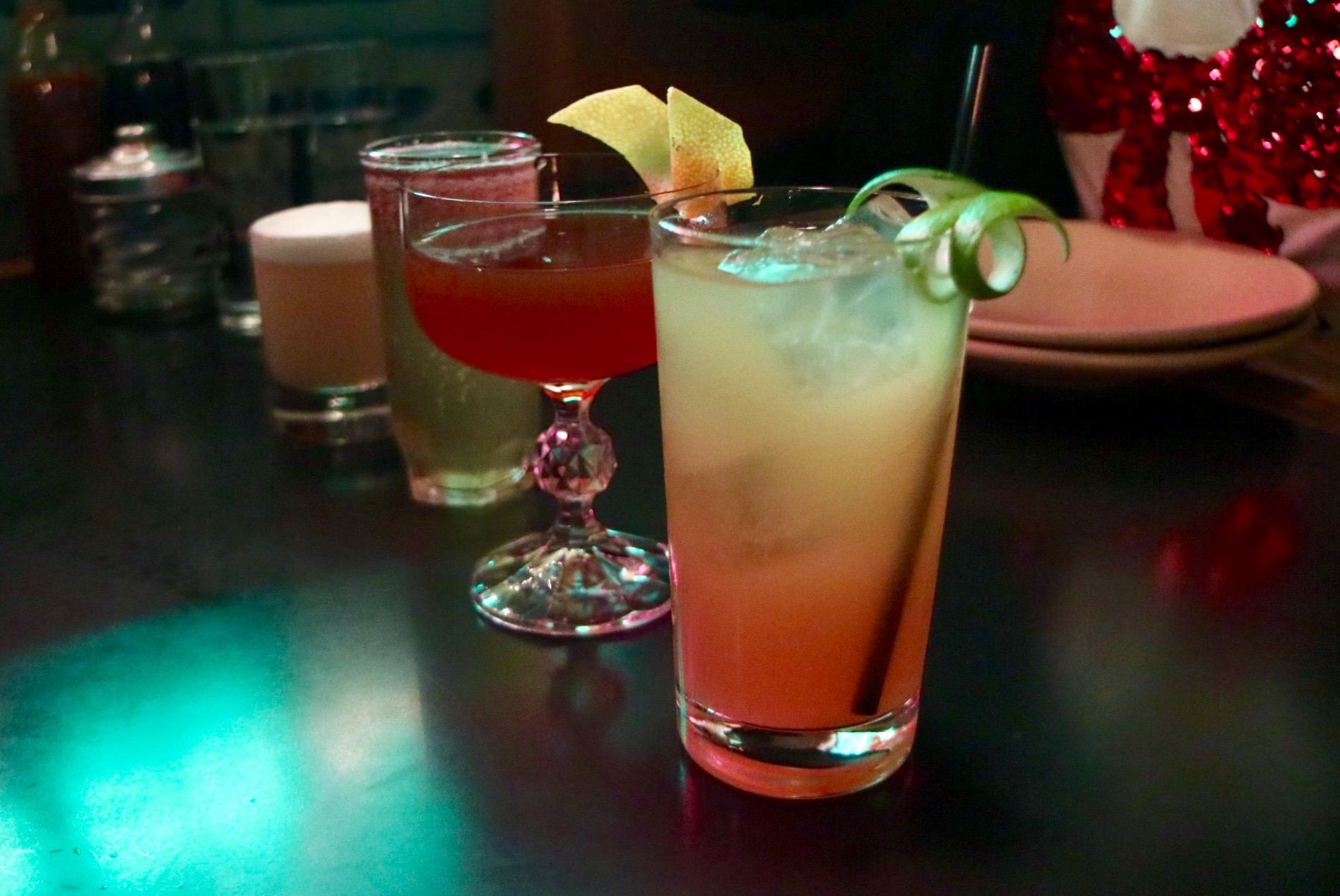 Cocktails at Juke