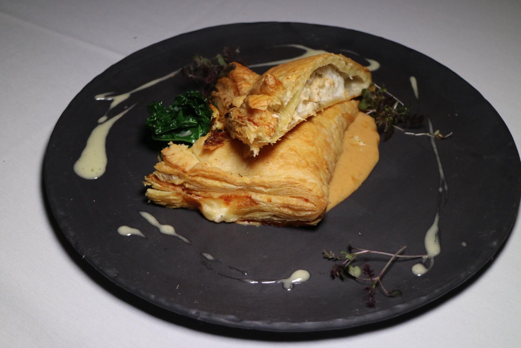 Crab-Stuffed Sole Wellington