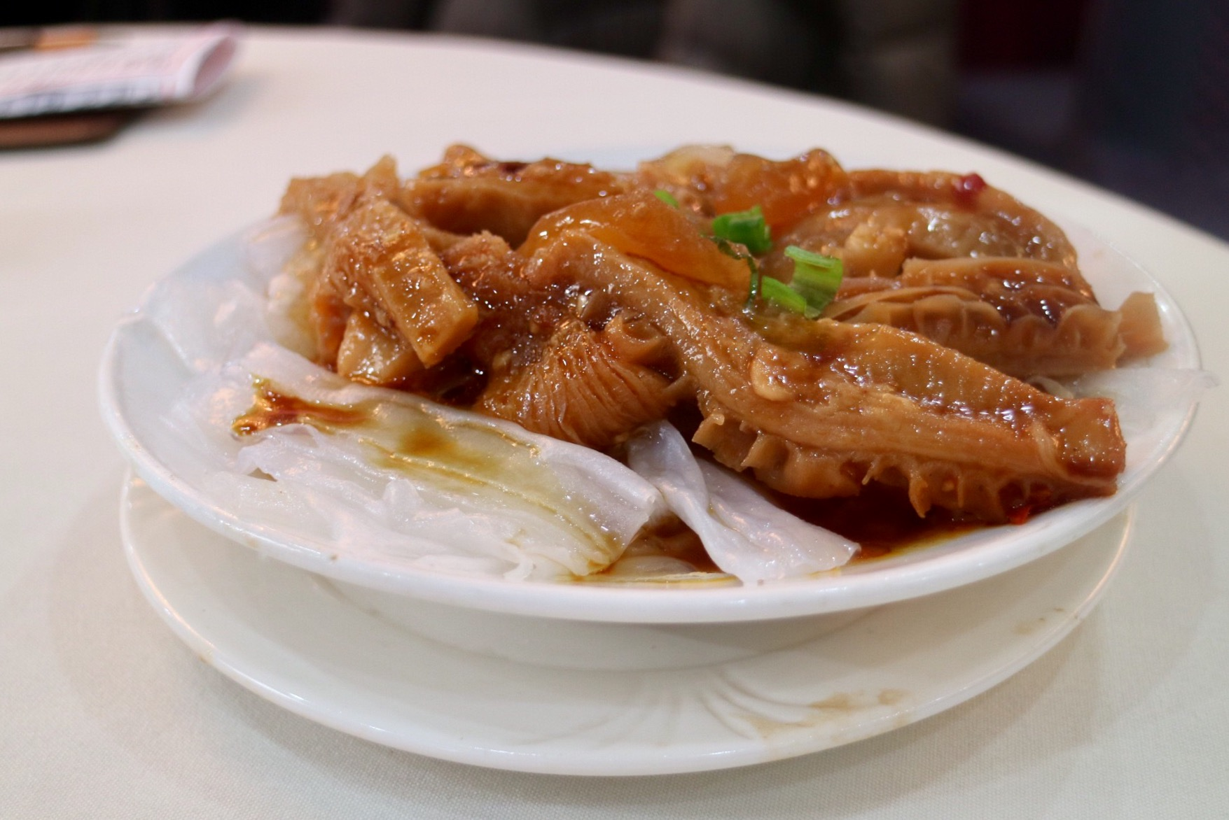 Beef Tripe and Tendon