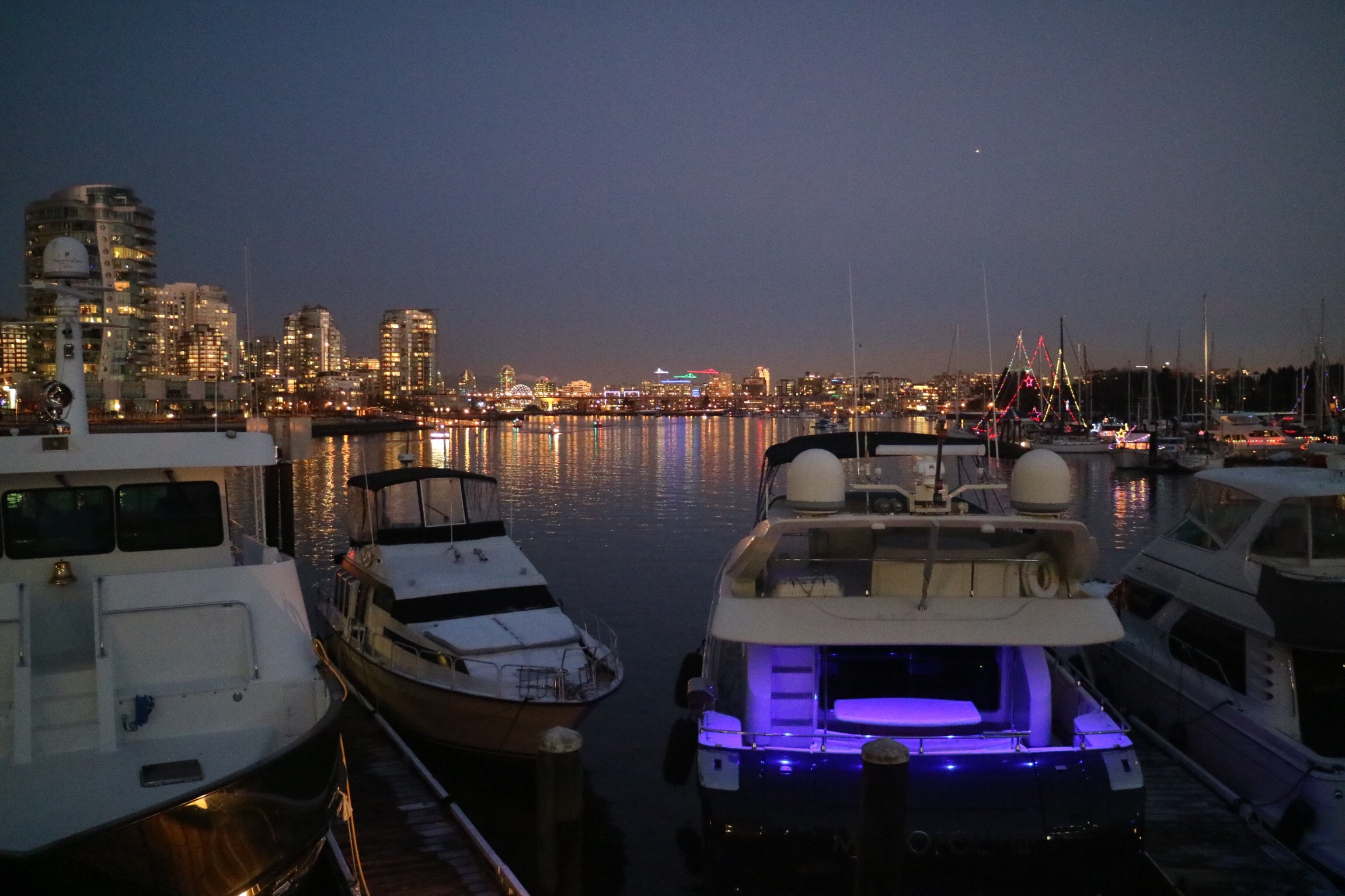 Views from Dockside Restaurant patio