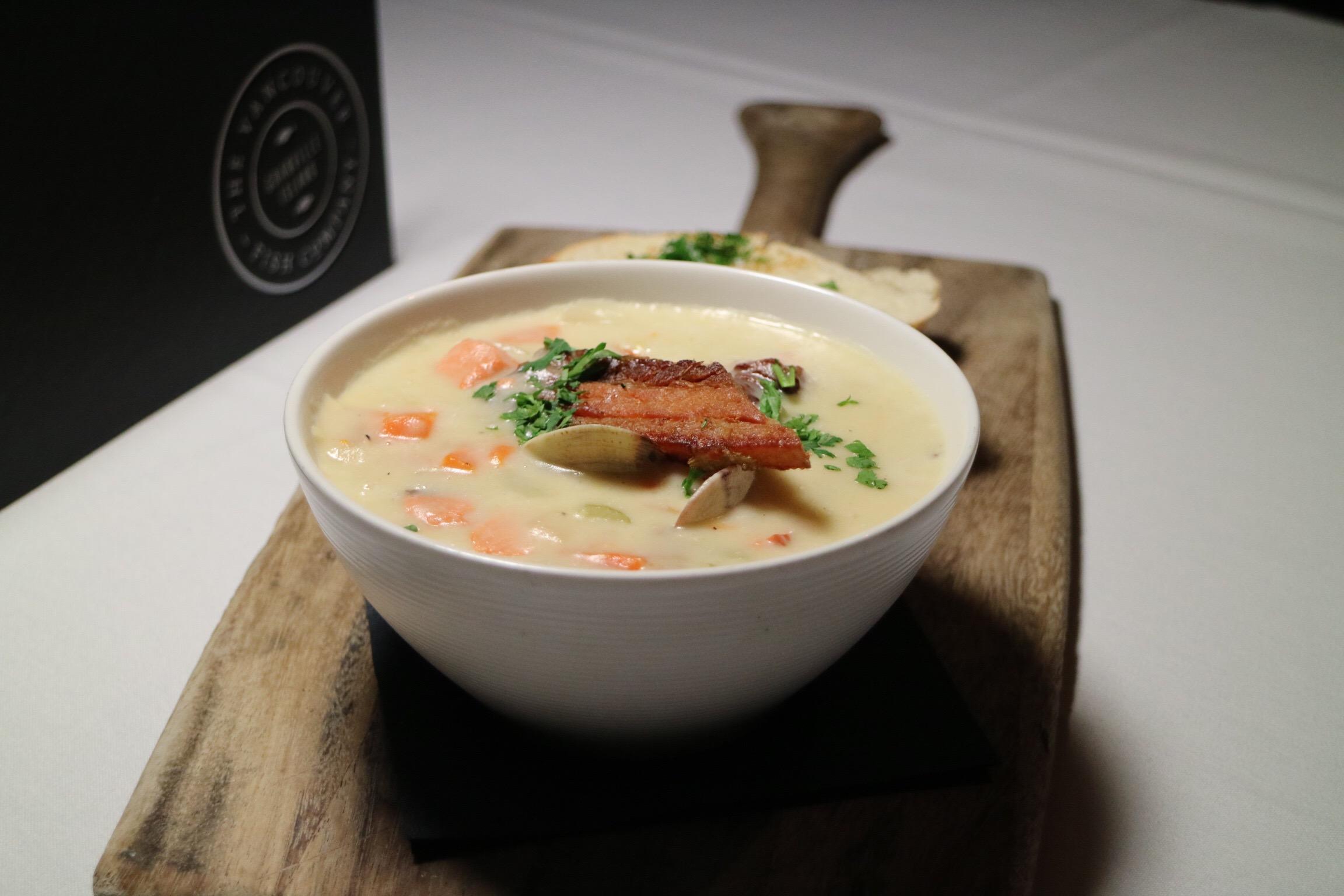 VFC seafood chowder