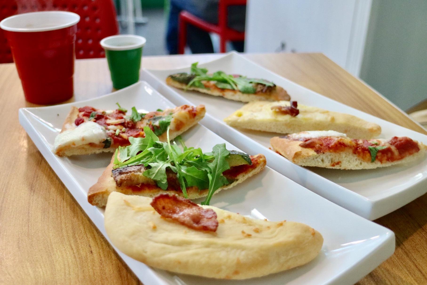 Pizzas at Punto Pasta