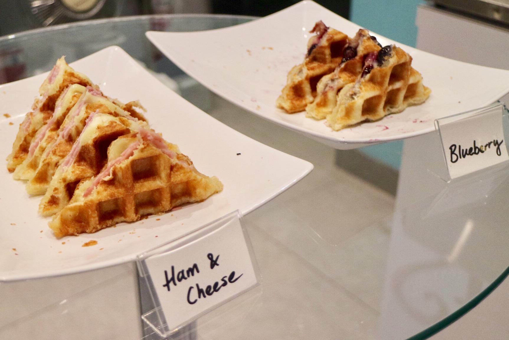 Waffles @ Styo Dessert