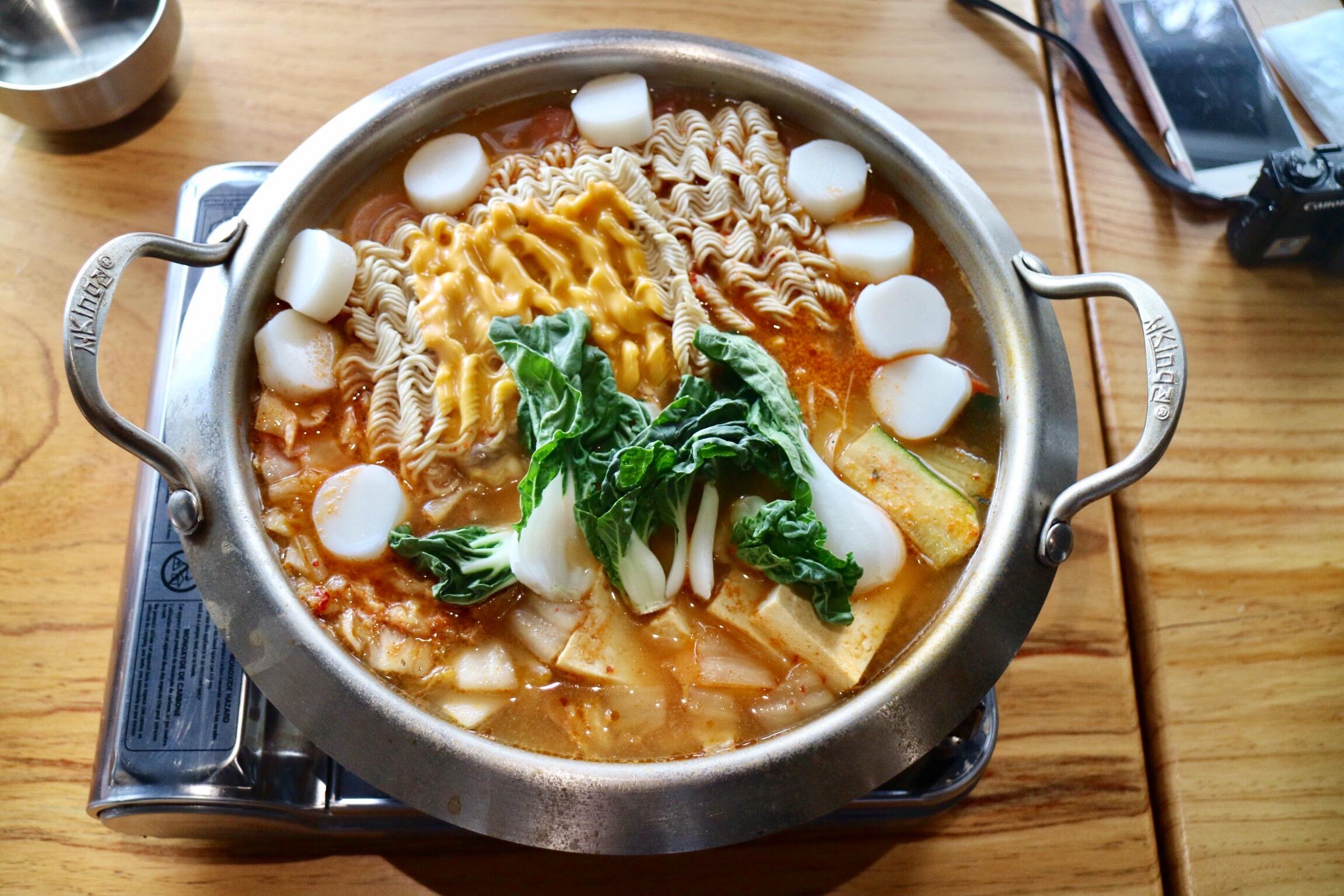 budae hot pot