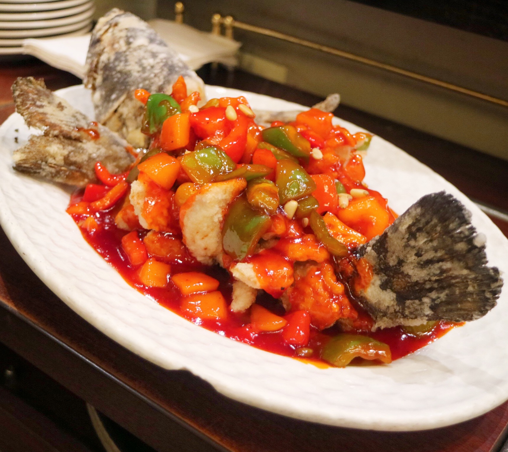 Sweet and Sour Rock Cod