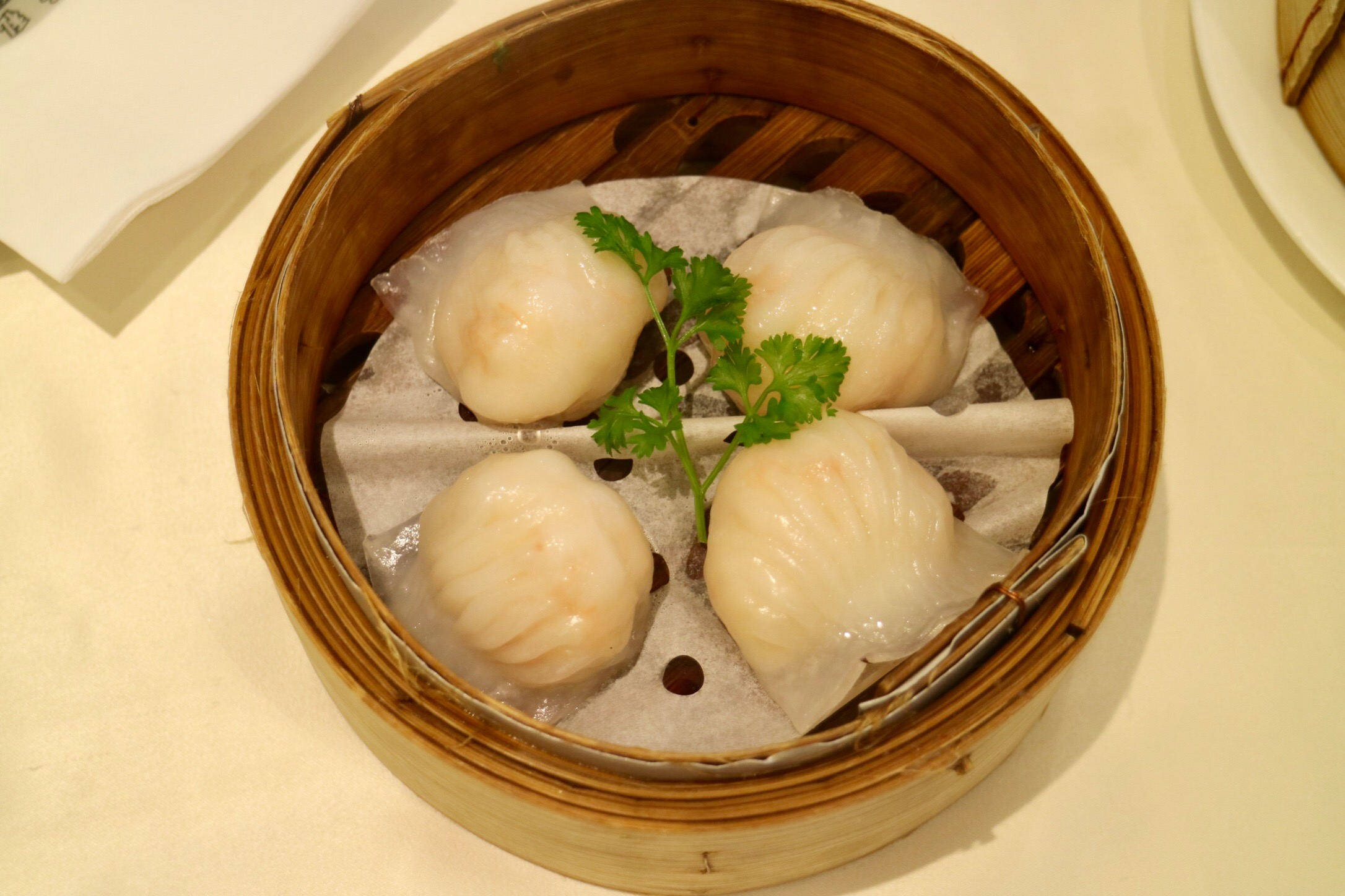 """Har Gow"" / Steamed Shrimp Dumplings"