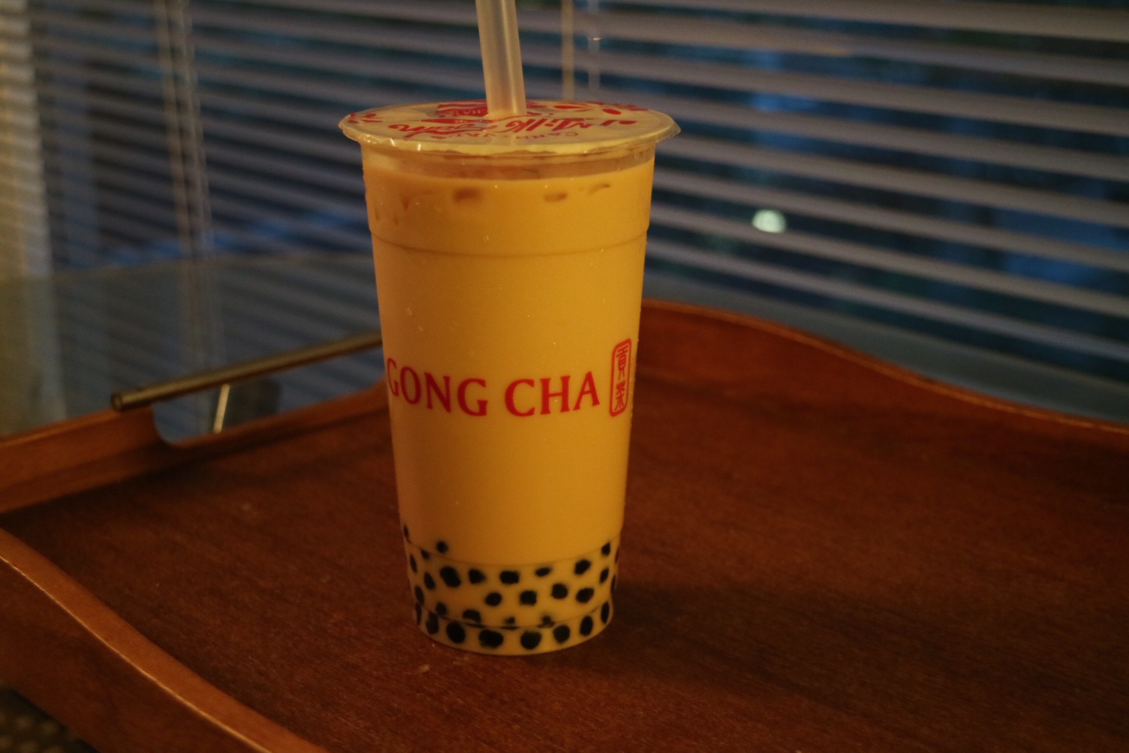 Royal Milk Tea with Pearls