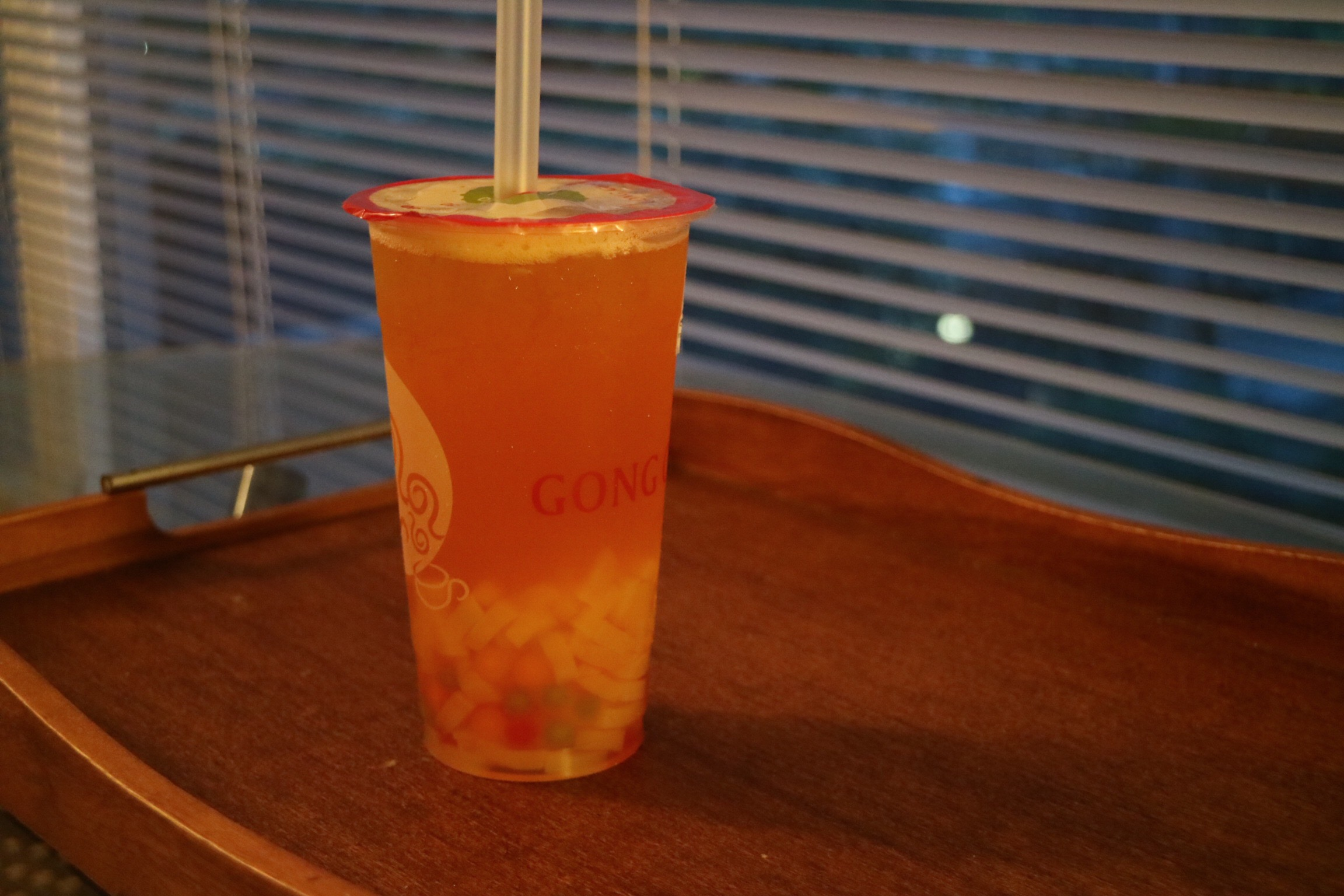 Planet Passionfruit Green with QQ Jelly