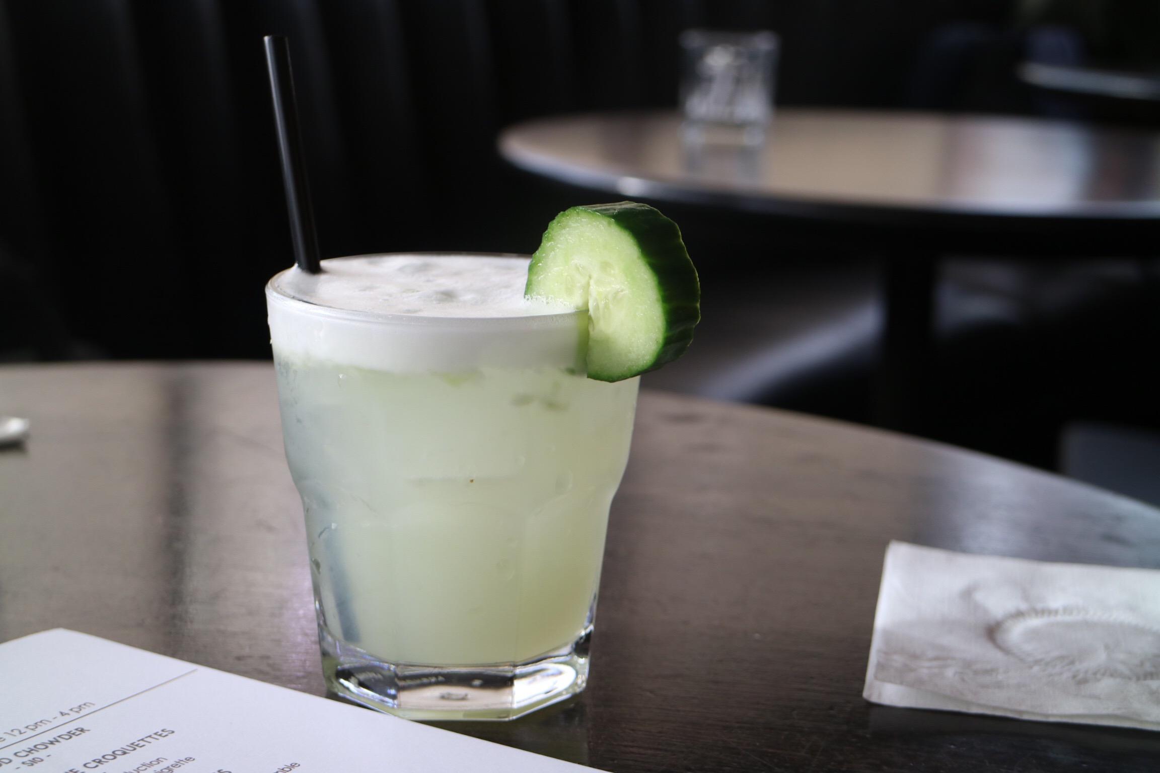 Cucumber Collins @ Bayside Lounge