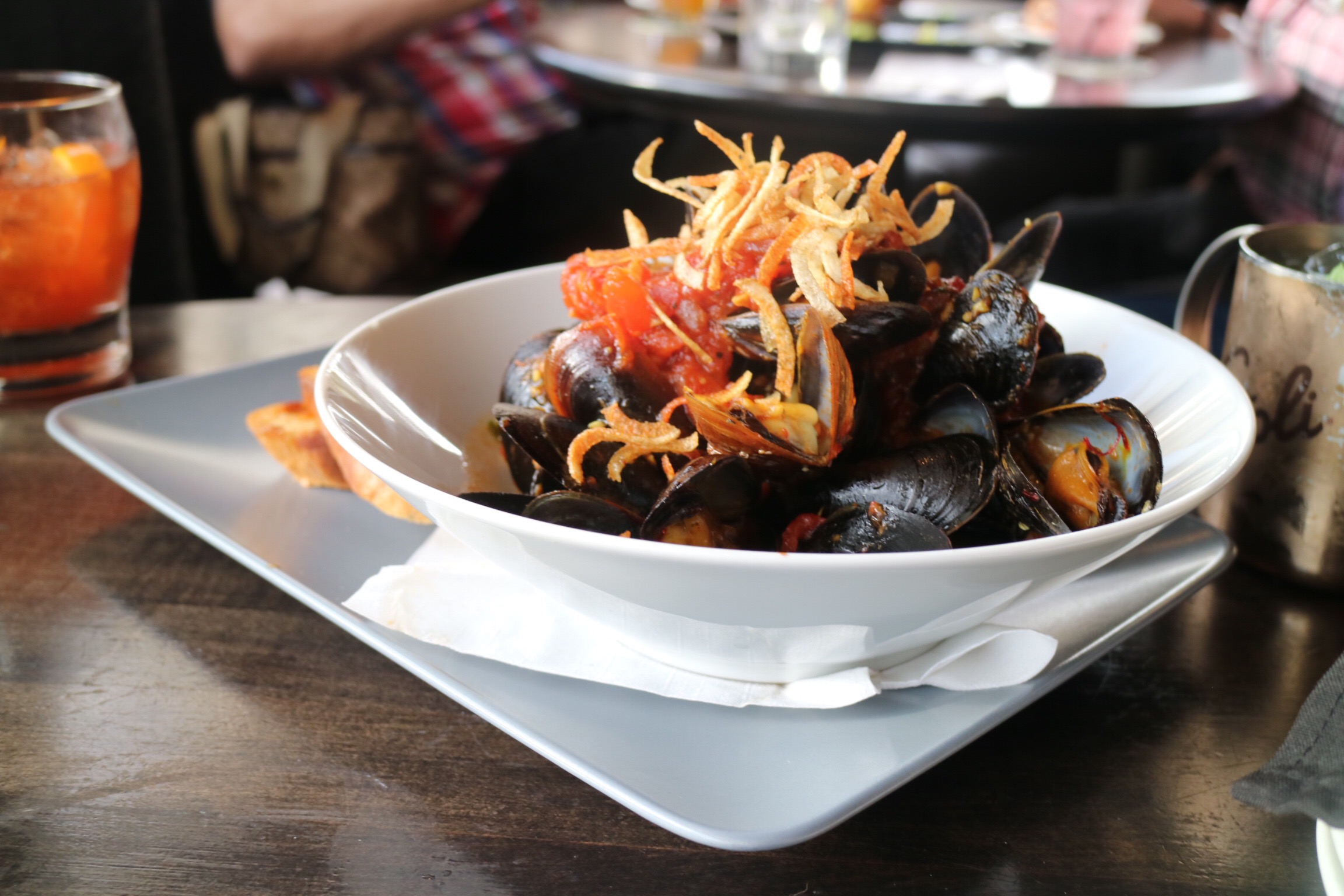 Steamed PEI Mussels & Frites