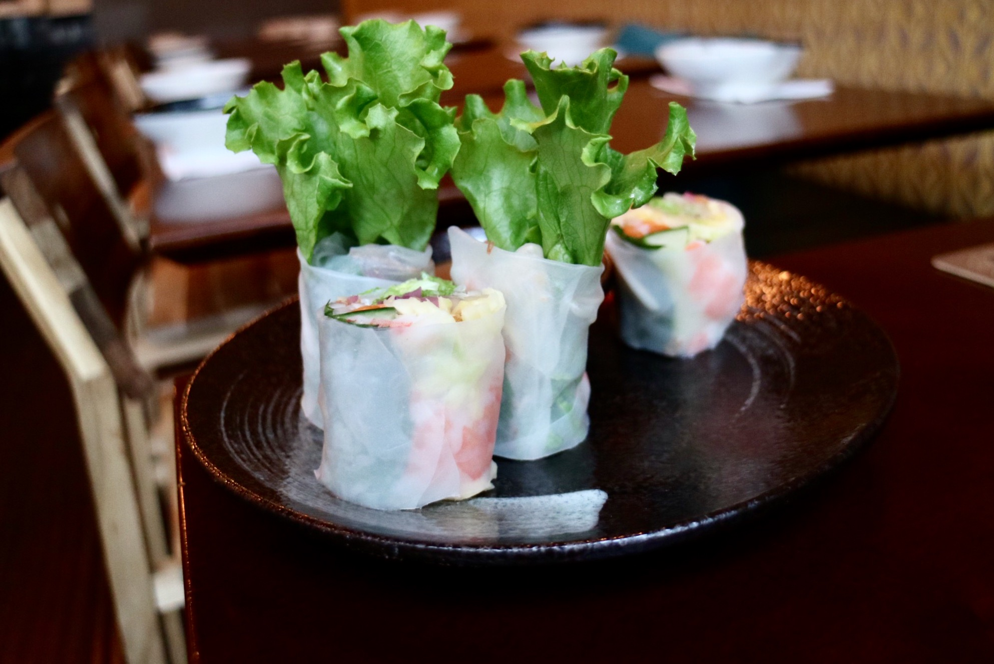 Prawn + Mango Salad Roll