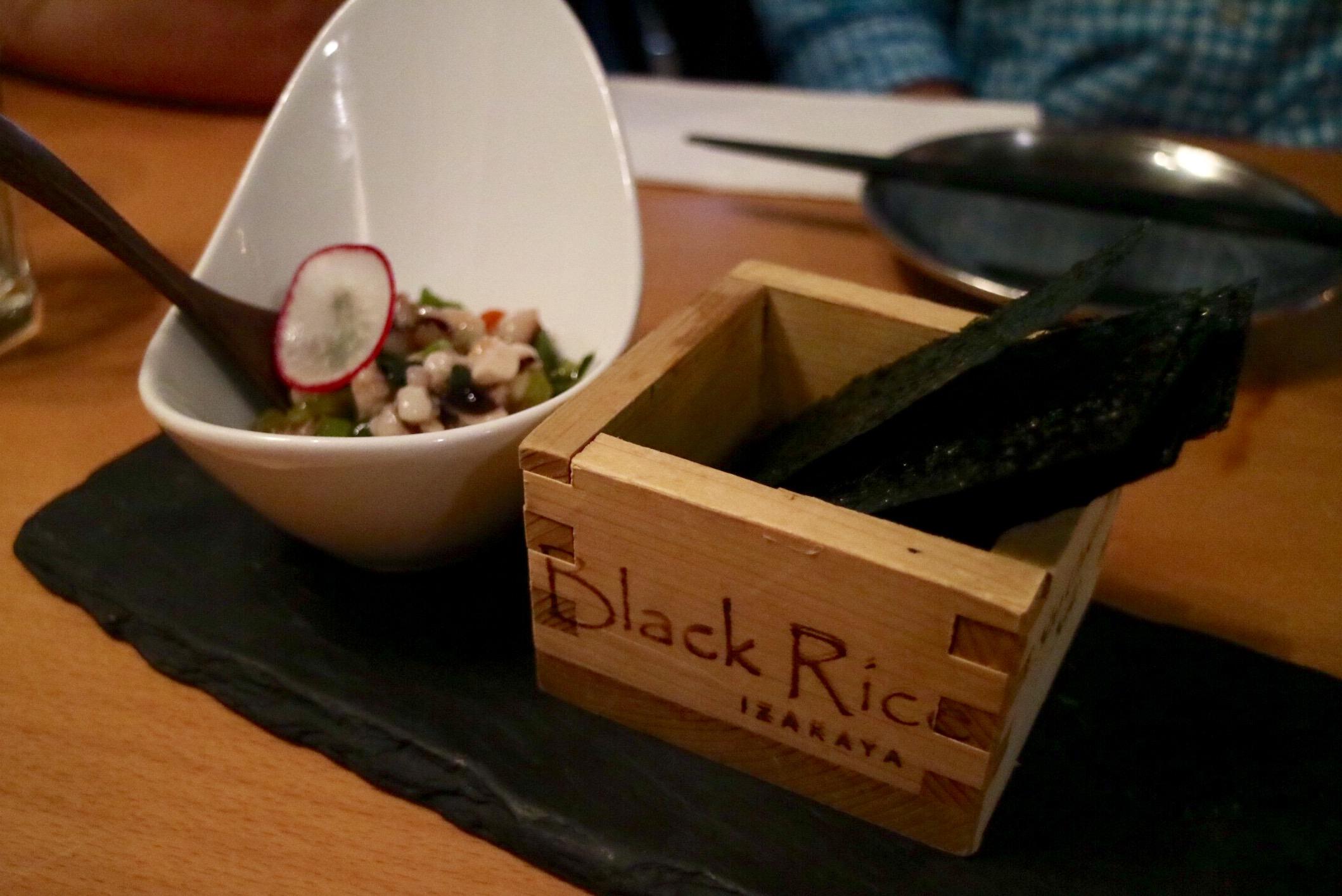 tako wasa @ black rice