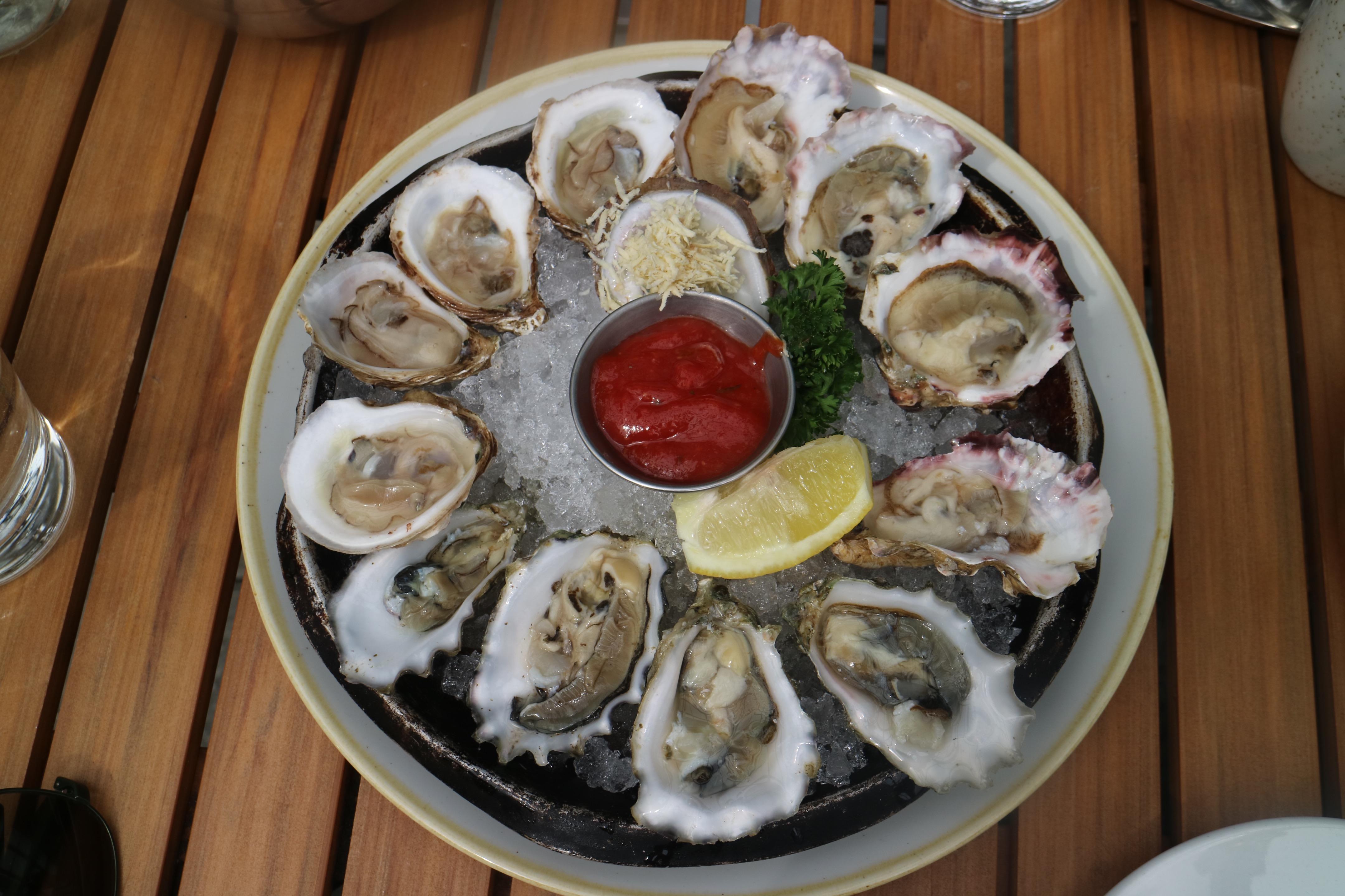 oyster platter @ WildTale