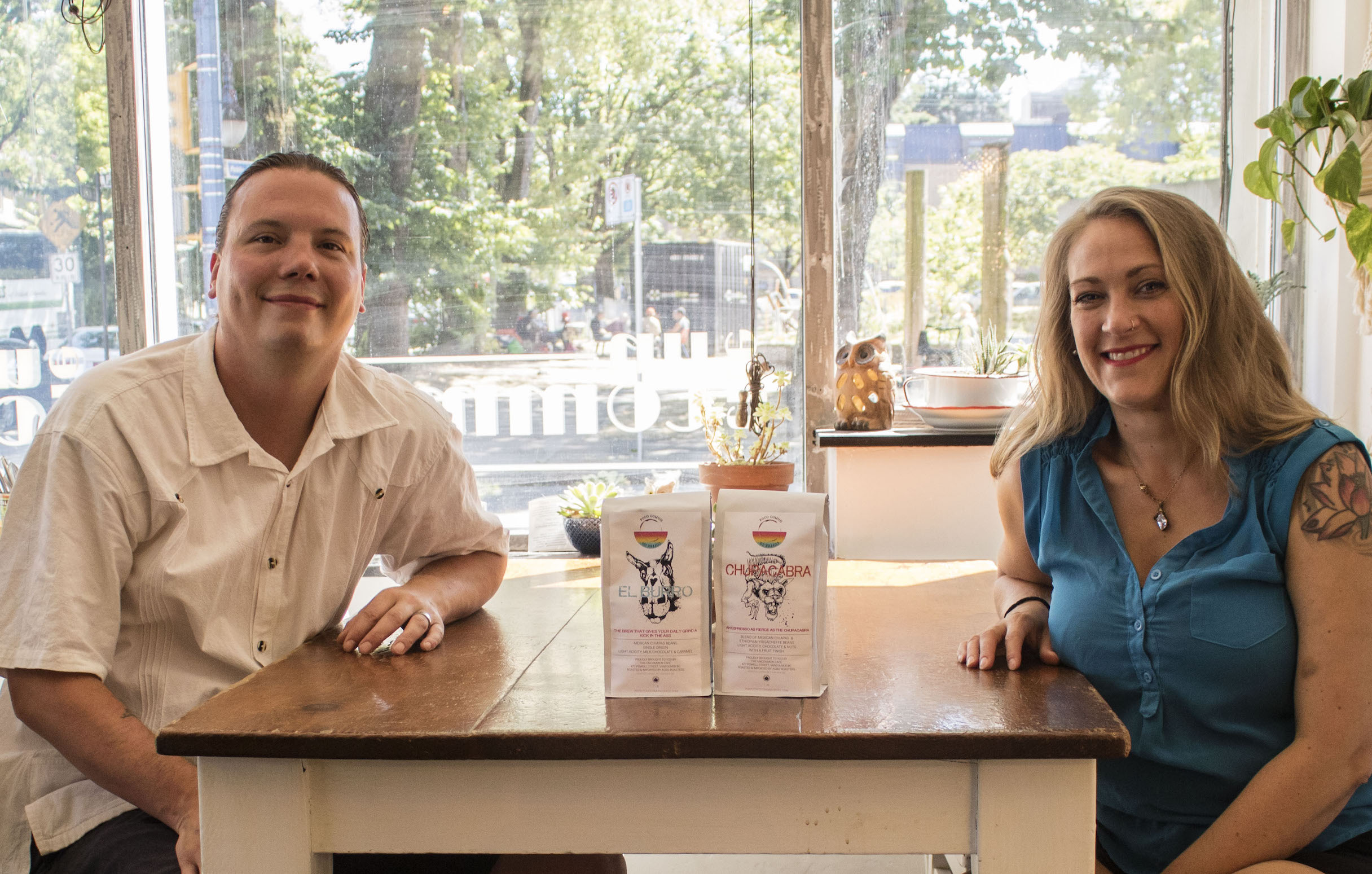 Lisa and Luc, The Uncommon Cafe