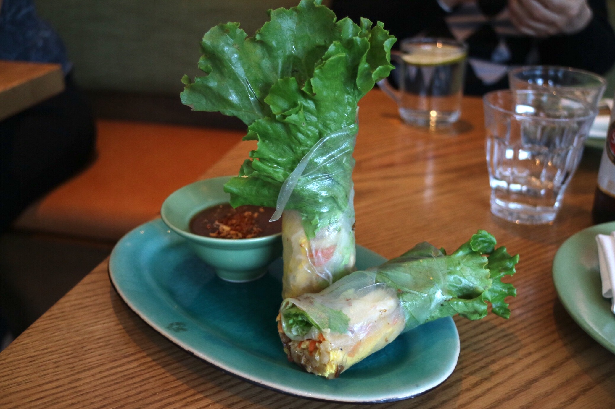 Hand-Made Rice Paper Rolls