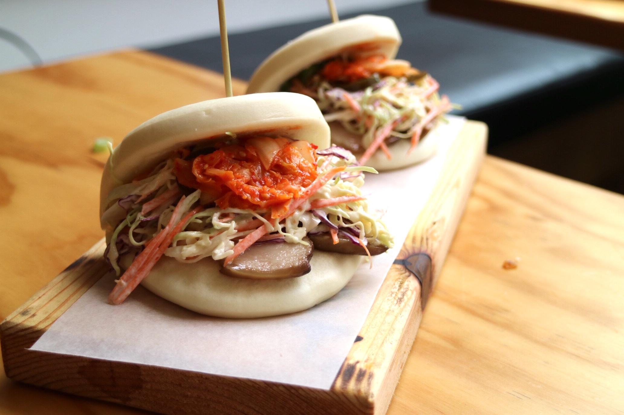 Korean Kimchi & Pork Bao-zi