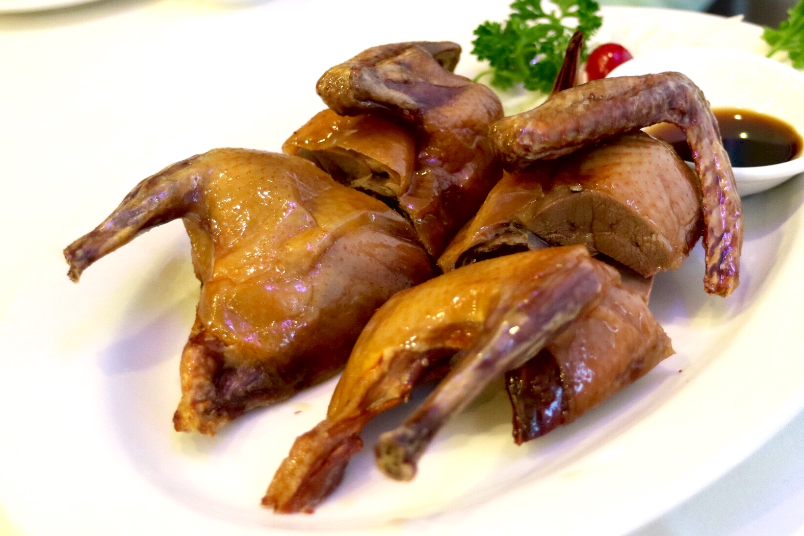 deep fried squab