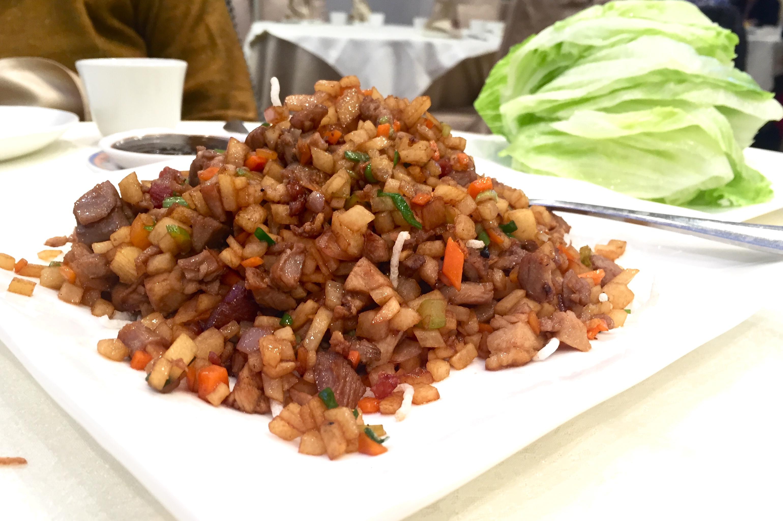 Peking Duck - Lettuce Wrap