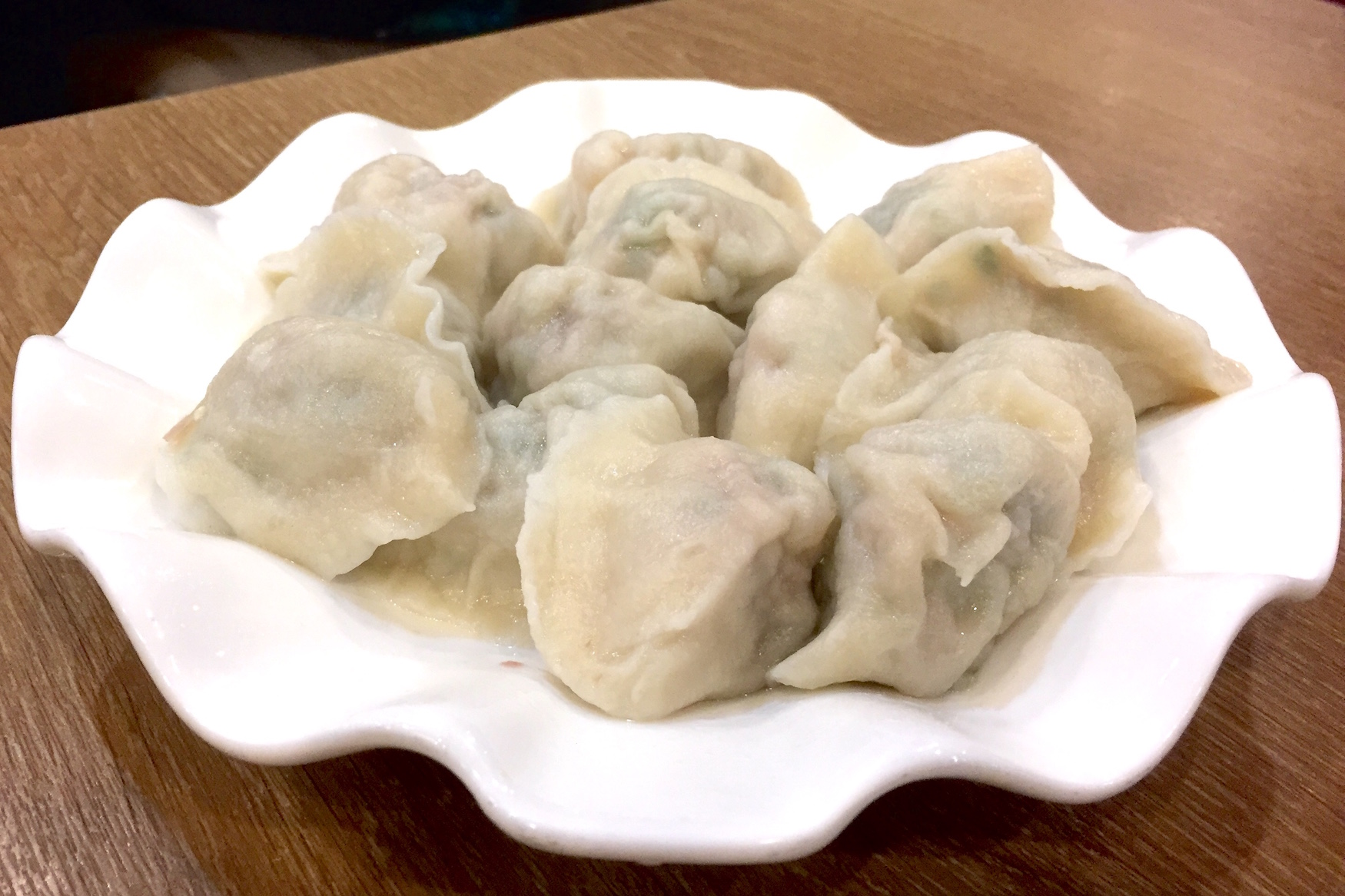 Three Fresh Meat Dumplings