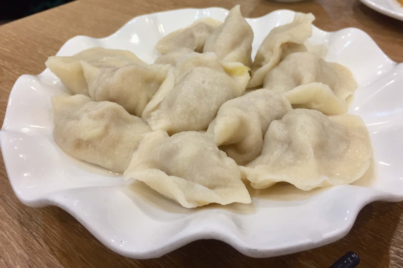Sour Pickled Cabbage and Pork Dumplings