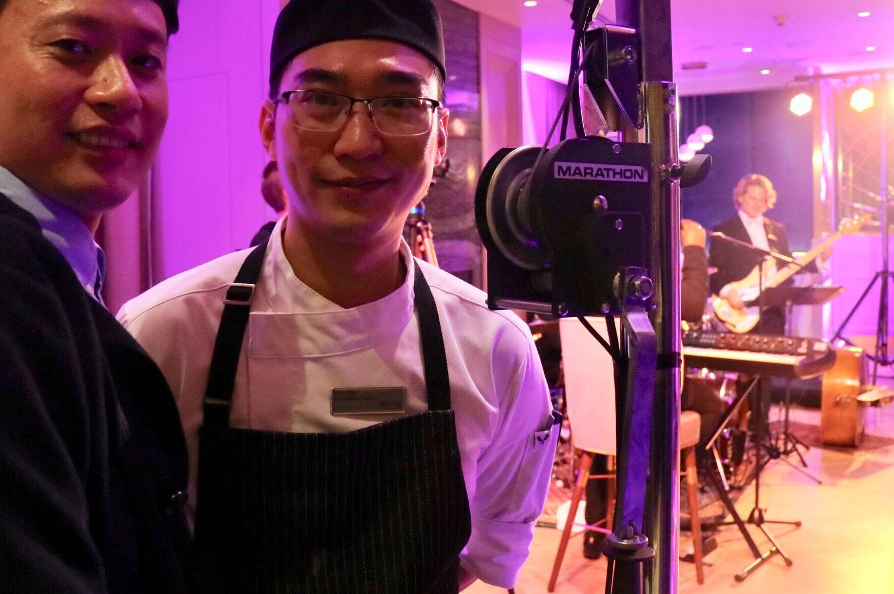 Chef Alex Mok and @PickyDiner