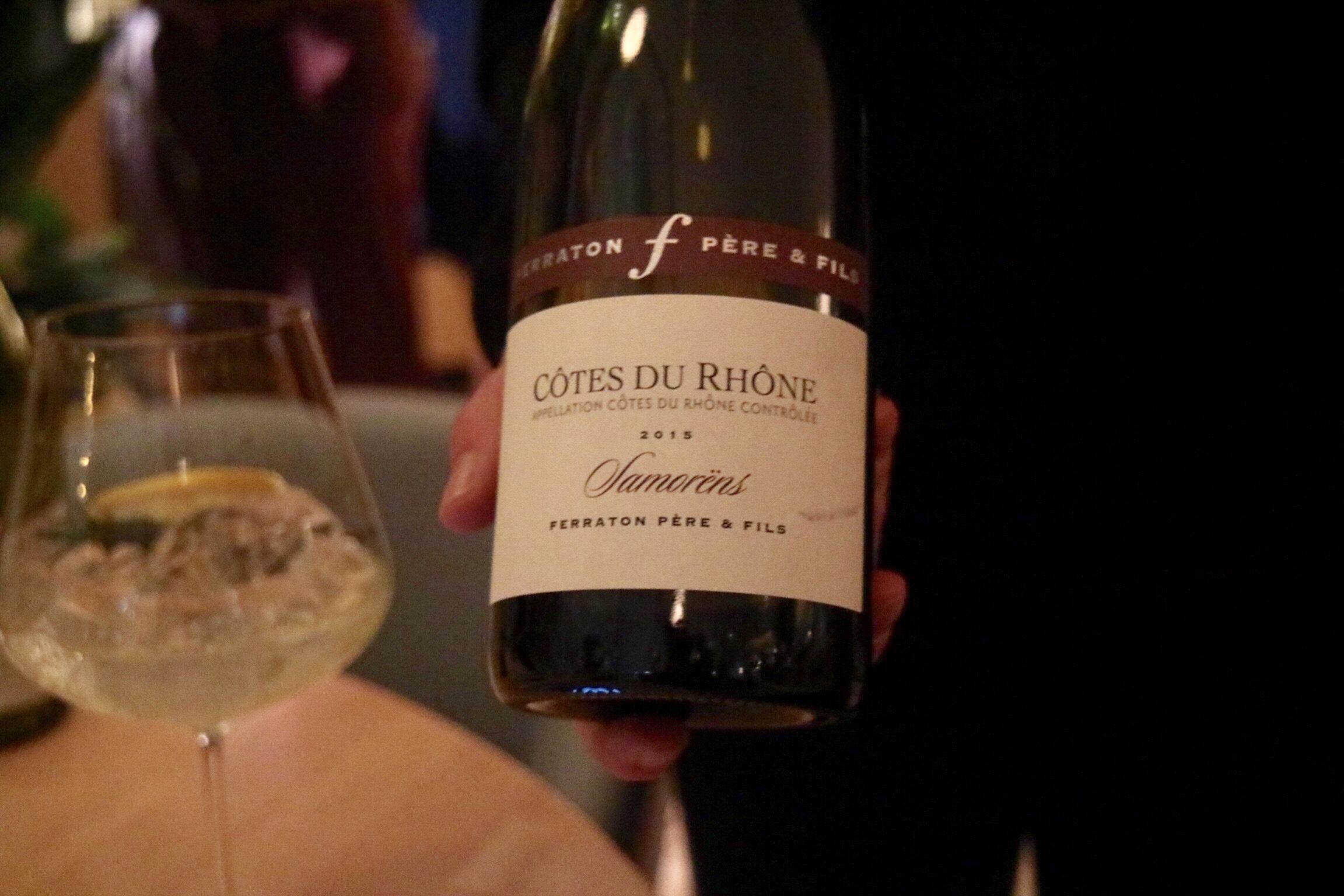 Ferraton Pere & Fils 2016 Samorens Blanc Côtes du Rhône