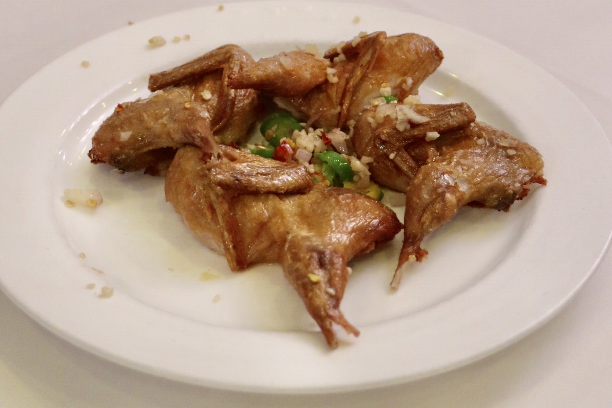 Quail with Salt and Pepper