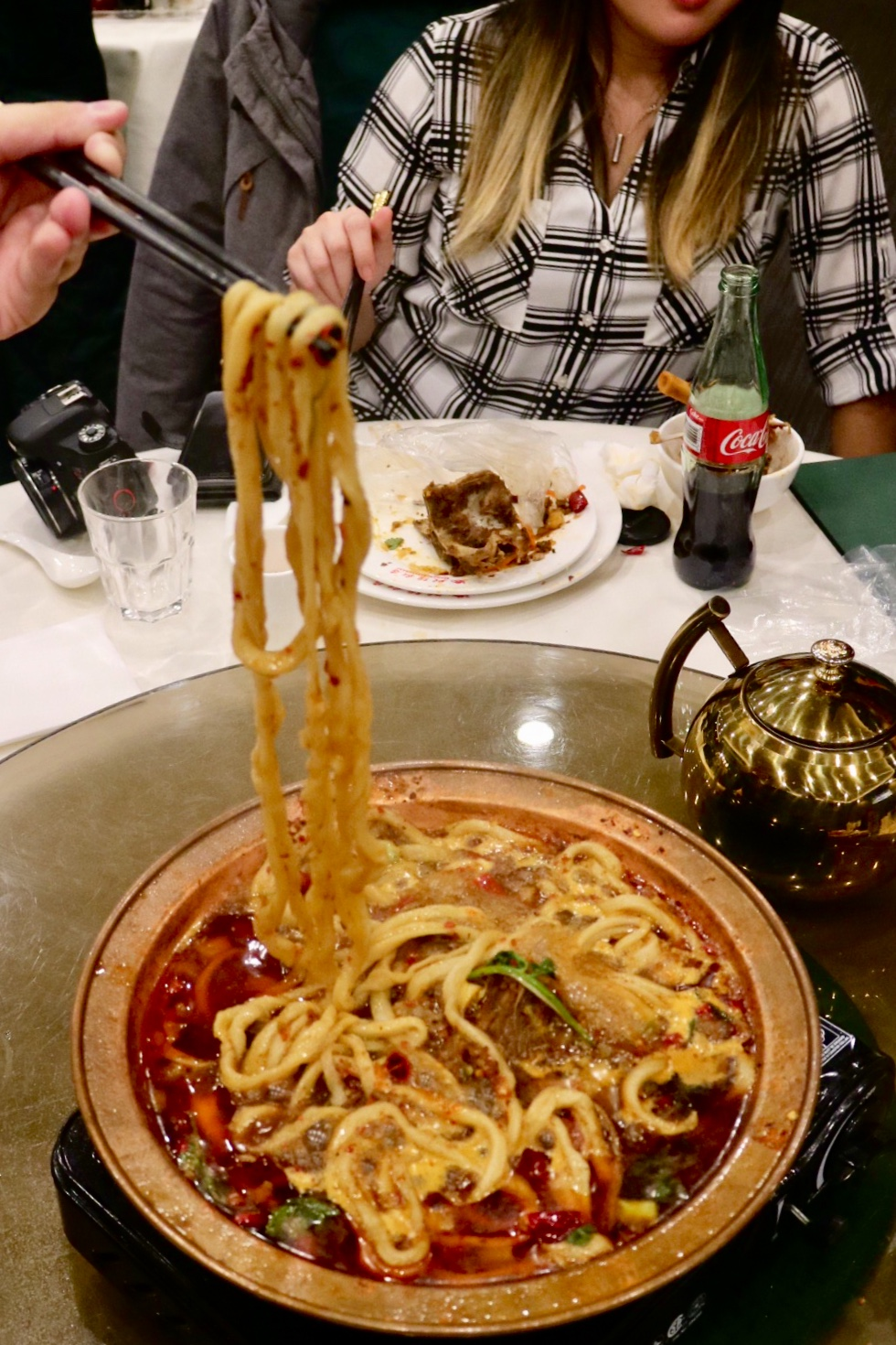 Lamb Bone Pot with Noodles