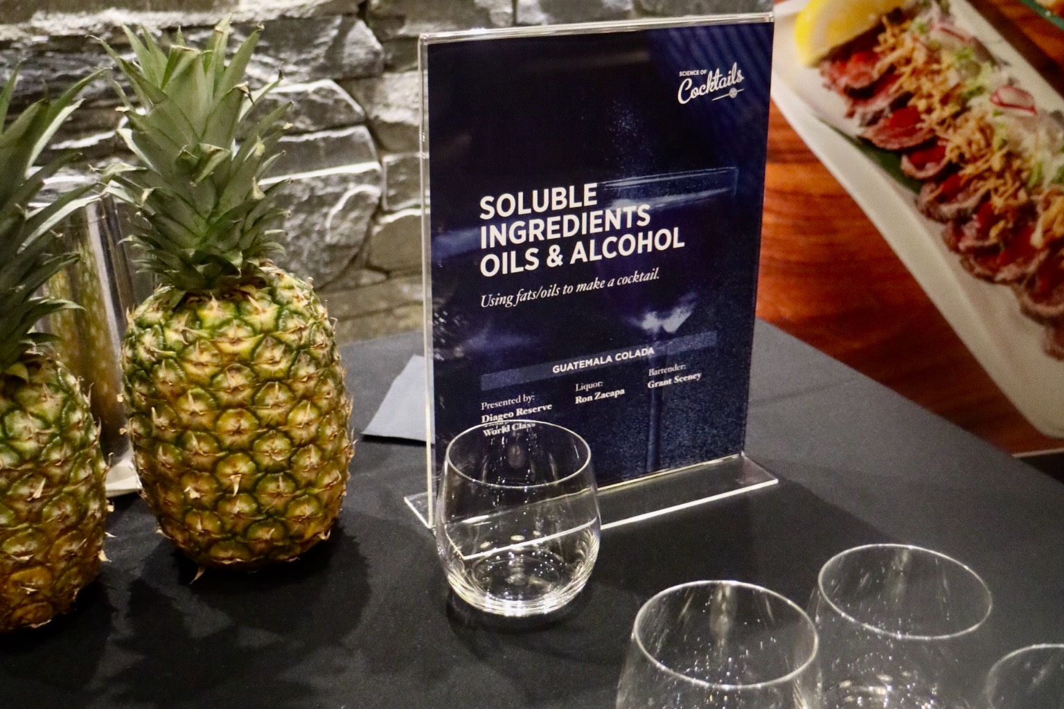 Science of Cocktail 2018