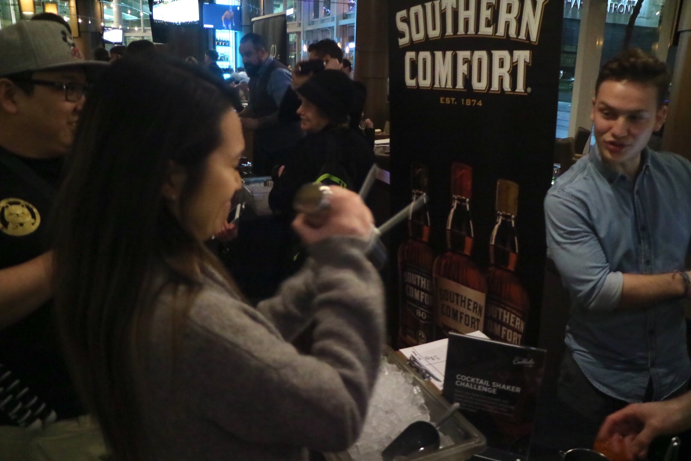 southern comfort shaker challenge