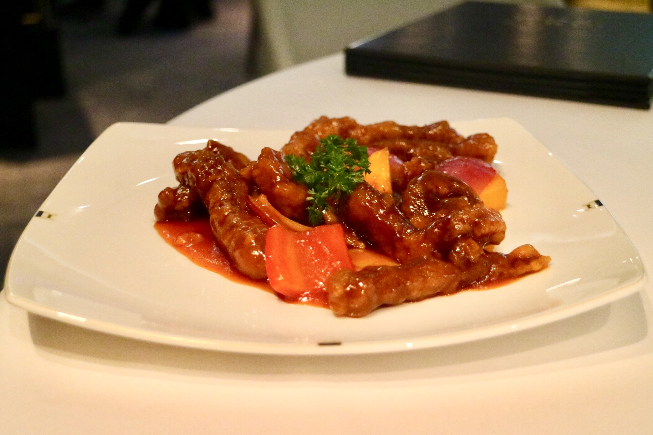 Sweet and Sour Iberico Pork