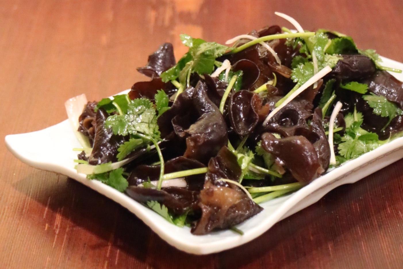 Woodear Mushroom Salad