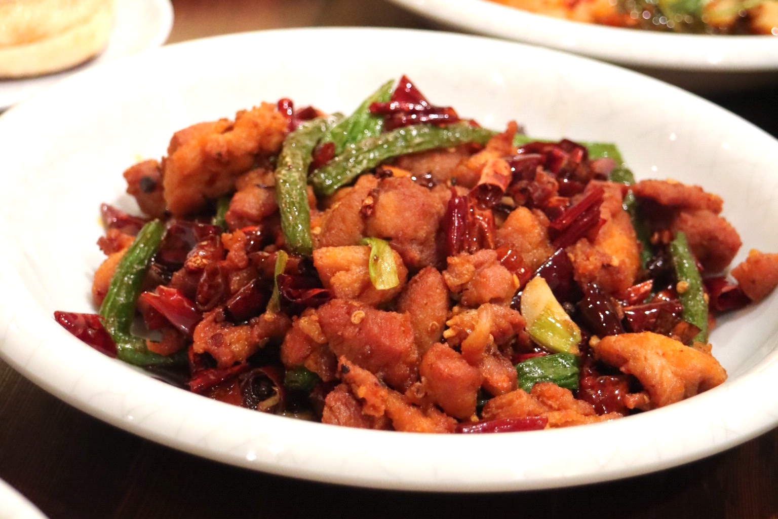 Sichuan Thousand Chili Chicken