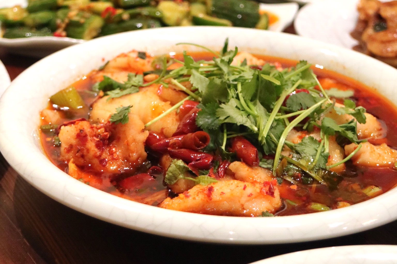 Sichuan Broth Braised Fish