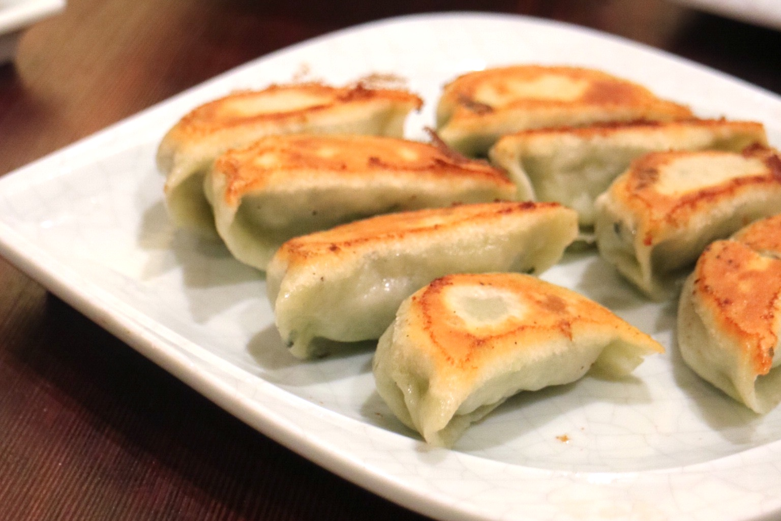 Pan Fried Vegetable Dumplings