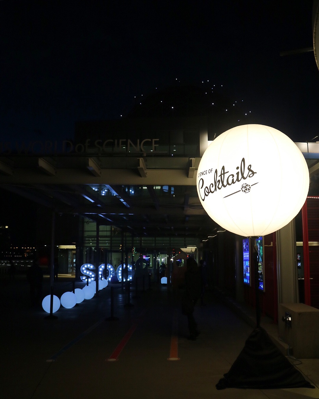 Science of Cocktails 2018 at Science World