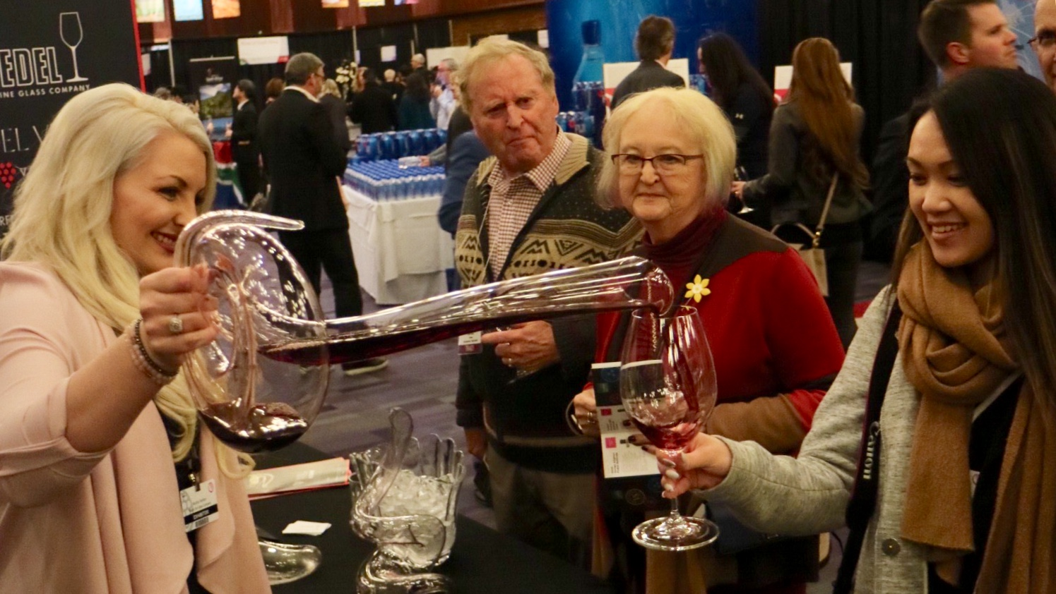 Riedel @ International Wine Tasting