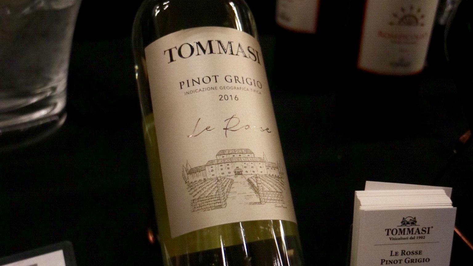 """Tommasi """"Le Rosse"""" Pinot Grigio 2016"""