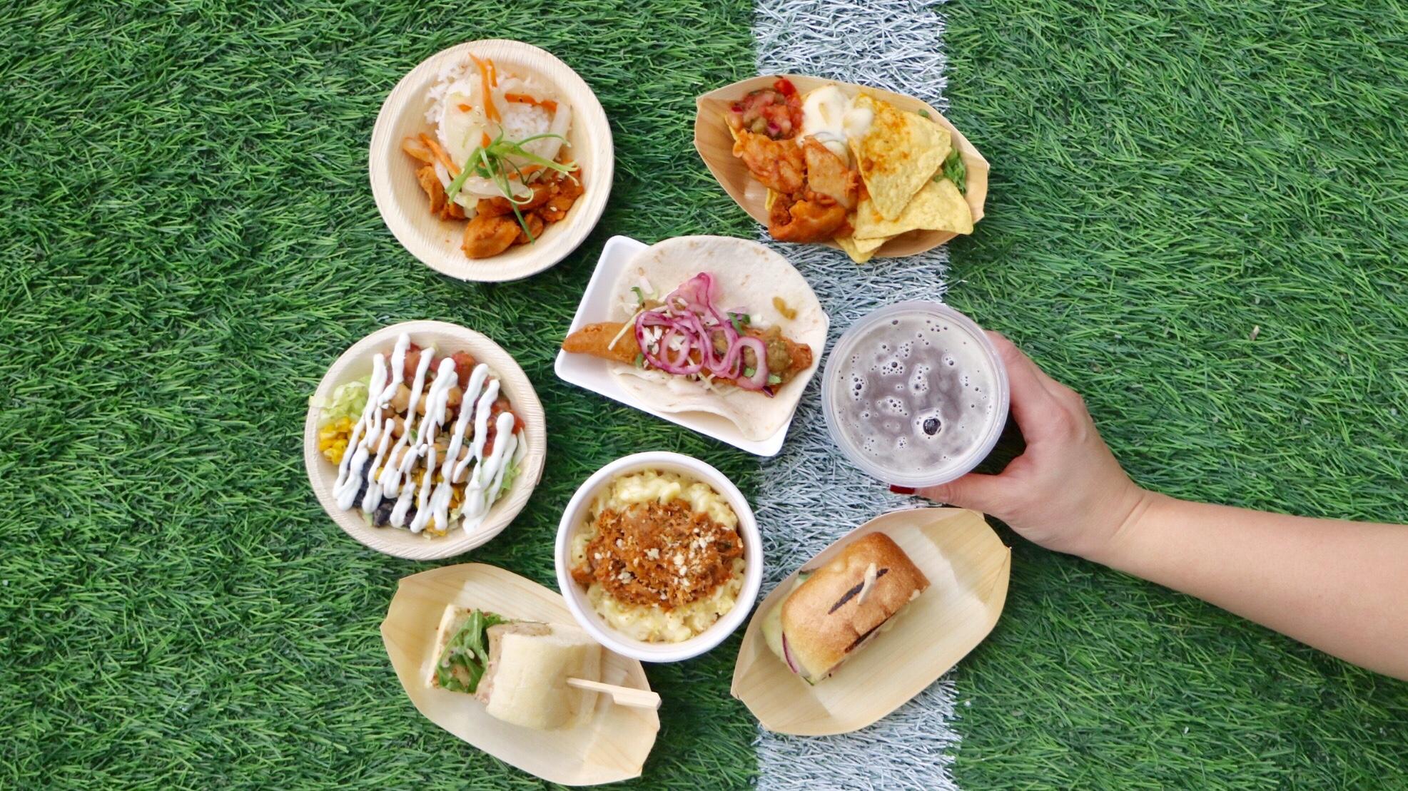 Food at BC Place